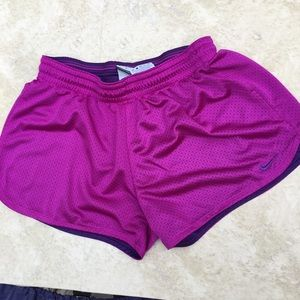 Nike Dri-fit Purple Athletic Shorts Size Medium